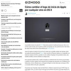 Cómo cambiar el logo de inicio de Apple por cualquier otro en OS X