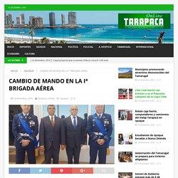 CAMBIO DE MANDO EN LA Iª BRIGADA AÉREA – Tarapaca Online
