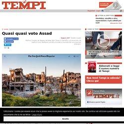 Il cambio di linea del New York Times su Assad