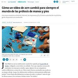 Cómo un video de 2011 cambió para siempre el mundo de las prótesis de manos y pies - 07.05.2017 - LA NACION