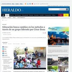 Aragón busca cambios en los métodos de educación a través de un grupo liderado por César Bona