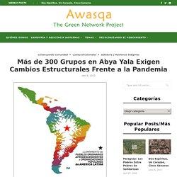 Más de 300 Grupos en Abya Yala Exigen Cambios Estructurales Frente a la Pandemia – Awasqa: The Green Network Project