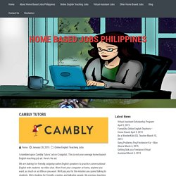 Cambly Tutors