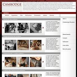 Cambodge atelier de la mémoire + Ateliers