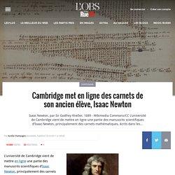 Cambridge met en ligne des carnets de son ancien élève, Isaac Newton
