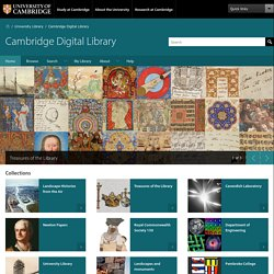 Cambridge Digital Library - University of Cambridge