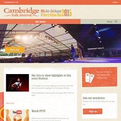 The Cambridge Folk Festival