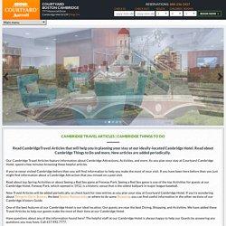 Cambridge Travel Articles