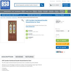 LPD Camden Hardwood Double Glazed Exterior Door
