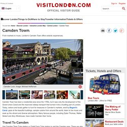 Camden Town, London - VisitLondon.com