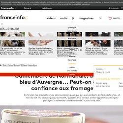 FRANCE INFO 23/08/18 Camembert de Normandie, brie de Meaux, bleu d'Auvergne... Peut-on encore faire confiance aux fromages AOP ?