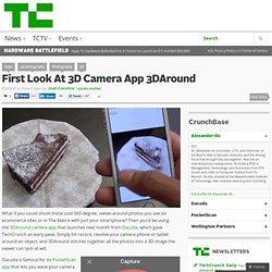 First Look At 3D Camera App 3DAround