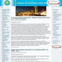 Camera di Commercio Italo Kazaka - Sulla situazione demografica in Kazakhstan nel periodo gennaio-dicembre 2010