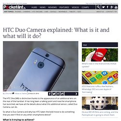 HTC Duo Camera explained: What is it and what will it do?