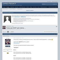 Camera-Forum.fr