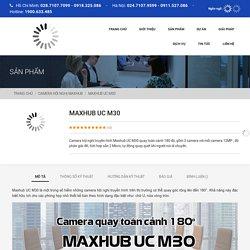 Camera hội nghị quay 180° Maxhub UC M30 – Bao An Telecom
