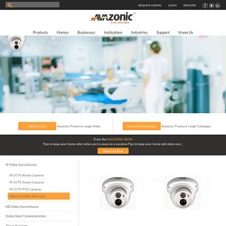 Avazonic - AHD CCTV Dome Camera