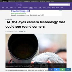DARPA eyes camera technology that could see round corners