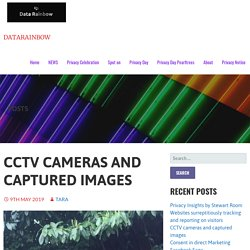 CCTV cameras and captured images – DataRainbow