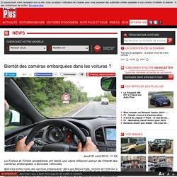 DES CAMERAS EMBARQUEES EN VOITURE POUR LA SECURITE