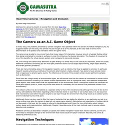 Real-Time Cameras - Navigation and Occlusion
