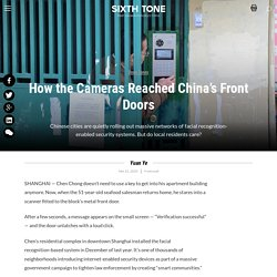 How the Cameras Reached China's Front Doors