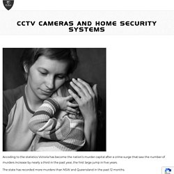 CCTV cameras and Home security systems