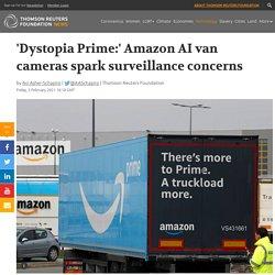 Amazon AI van cameras spark surveillance concerns