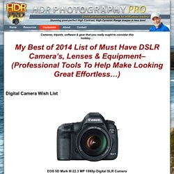 Best Cameras, Lenses & Gear For HDR: Ultimate Wishlist