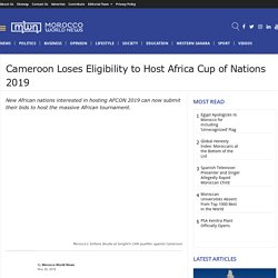 Latest News about the African Cup of Nations 2019