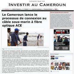 Le Cameroun lance le processus de connexion au câble sous-marin à fibre optique ACE