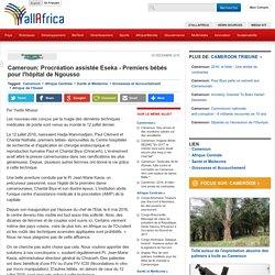 Cameroun: Procréation assistée Eseka - Premiers bébés pour l'hôpital de Ngousso - allAfrica.com