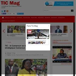 TIC: le Camerounse dote d'un '' Plan stratégique Cameroun Numérique 2020''