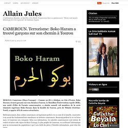 Boko Haram se heurte aux forces du Cameroun