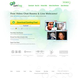 Camfrog Video Chat Rooms & Live Webcams!