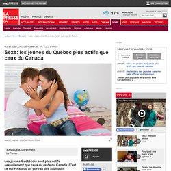 Sexe: les jeunes du Québec plus actifs que ceux du Canada