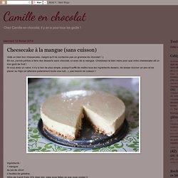 Cheesecake à la mangue (sans cuisson)