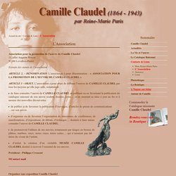 Camille Claudel par Reine Marie Paris - L'Association