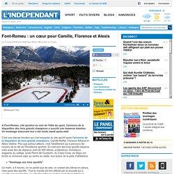 Font-Romeu : un cœur pour Camille, Florence et Alexis