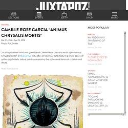 """Camille Rose Garcia """"Animus Chrysalis Mortis"""""""