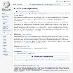 Camille (femme guerrière)
