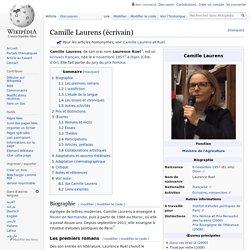 Camille Laurens (écrivain)