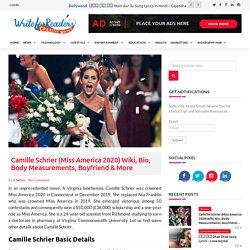 Camille Schrier Wiki, Bio, Body Measurements, Boyfriend & More