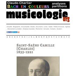 Camille Saint-Saëns (1835-1921) - musicologie.org