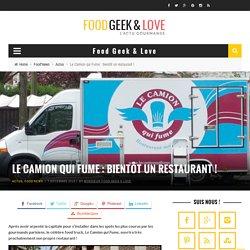 Le Camion qui Fume restaurant - Burger - Paris