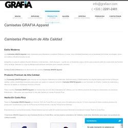 Camisetas GRAFIA Apparel, Trabajos en Impresion Costa Rica