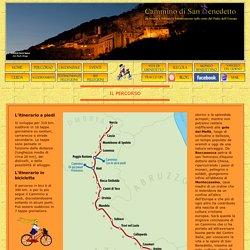 Cammino di San Benedetto Percorso e Tappe