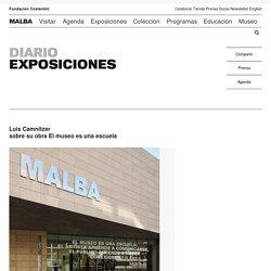 Luis Camnitzer sobre su obra El museo es una escuela