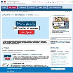 Campagne 2016 de l'impôt sur le revenu