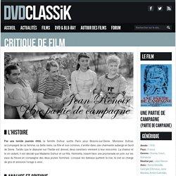DVDclassik Une partie de campagne de Jean Renoir (1936)